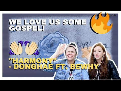 Musicians React To DONGHAE 동해 'HARMONY (Feat. BewhY)' Lyric Video