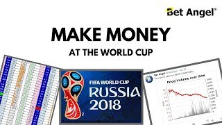 Peter Webb - Bet Angel - How to make money at the World Cup (so far)