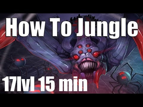 DoTa 2 How To Jungle Broodmother patch 7.07d