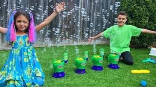 Heidi Play with Bubble Machine Toys Video