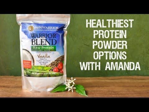 Healthy Protein Powder Options with Nutritionist Amanda Hayes