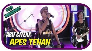 Arif Citenx - Apes Tenan [ Music Karaoke ]