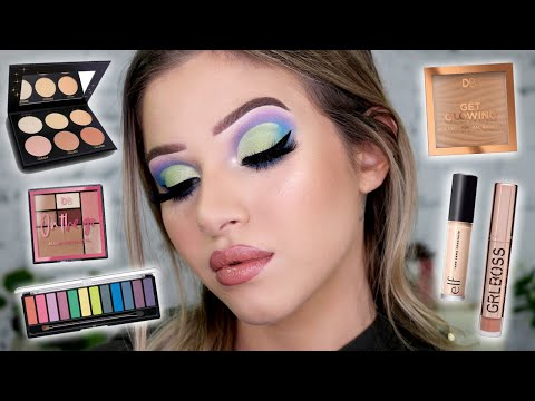 Trying *NEW* Drugstore Makeup! First Impressions Makeup Tutorial thumbnail