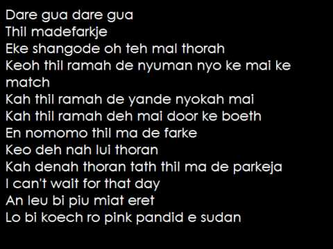 Emmanuel Jal - Gua with lyrics