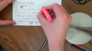 Continuous Functions between Metric Spaces