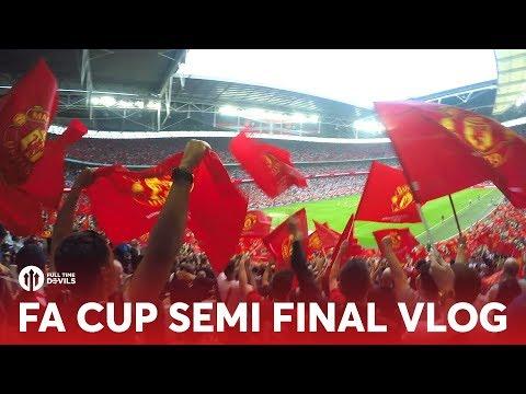 FA Cup Semi Final VLOG: Manchester United 2-1 Tottenham Hotspur