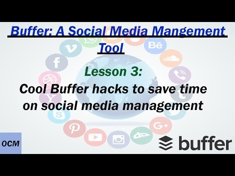 Lesson 3 Cool Buffer hacks for bulk scheduling on social media apps | A Buffer tutorial