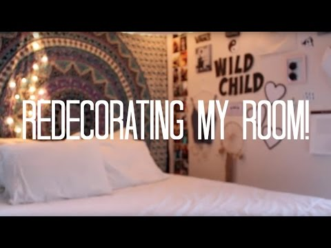 redecorating my room youtube