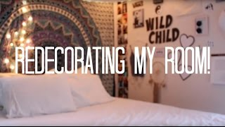 Redecorating my Room!