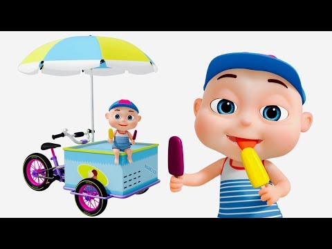 Ice Cream Van Assembly | Vehicle Construction For Kids | Videos For Toddlers