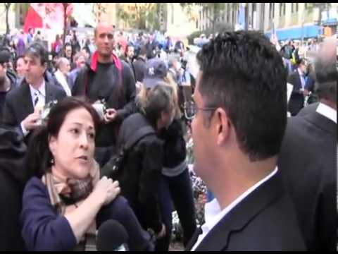 Occupy Wall Street Tour w  Cenk of The Young Turks