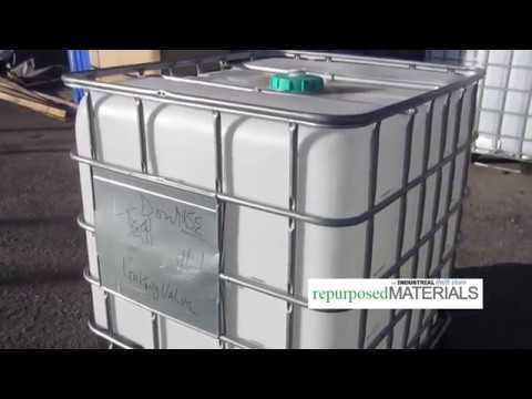USED 275 gallon / 300 gallon IBC Totes | repurposedMATERIALS