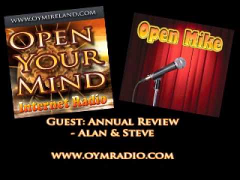 Open Your Mind (OYM) Radio - Annual Review/Open Mike - Dec 29th 2013