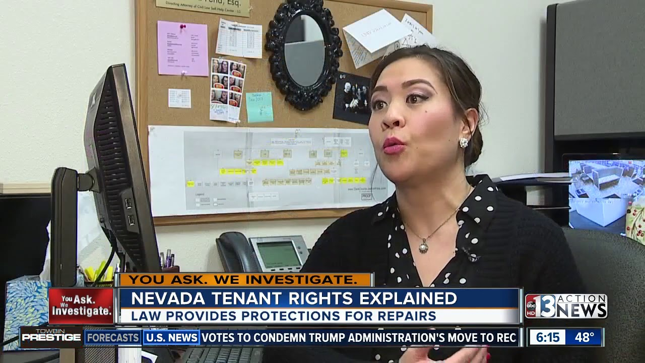 Tenant rights: How to hold Nevada landlord accountable