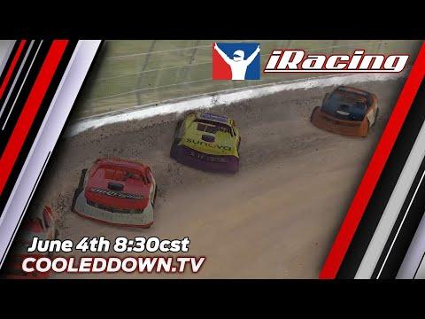 Cooleddown.tv iRacing Dirt Series, Season 2 Race #1 Eldora Speedway, June 4th 2020. - dirt track racing video image