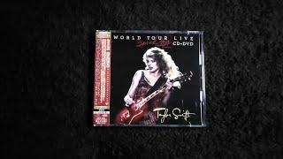 Unboxing Taylor Swift - Speak Now World Tour Live CD + DVD (Japan Pressed)
