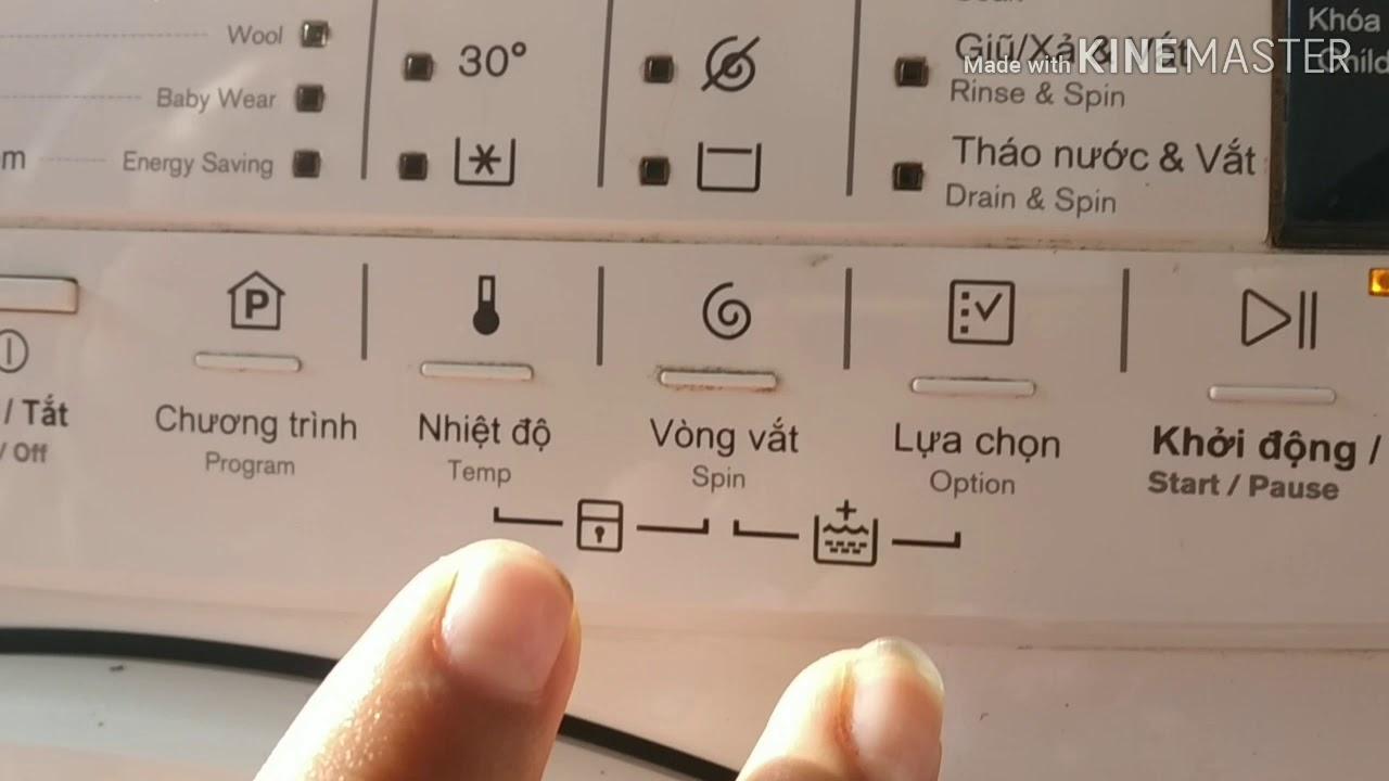 điện lạnh vlogs CÁCH MỞ KHÓA TRẺ EM Ở MÁY GIẶT ELECTROLUX CỬA NGANG NHANH NHẤT
