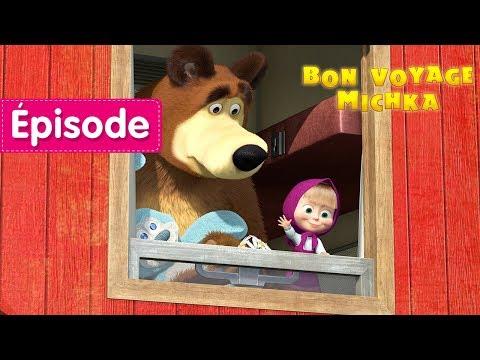 Masha et Michka - Bon Voyage Michka! 🚂 (Épisode 37)