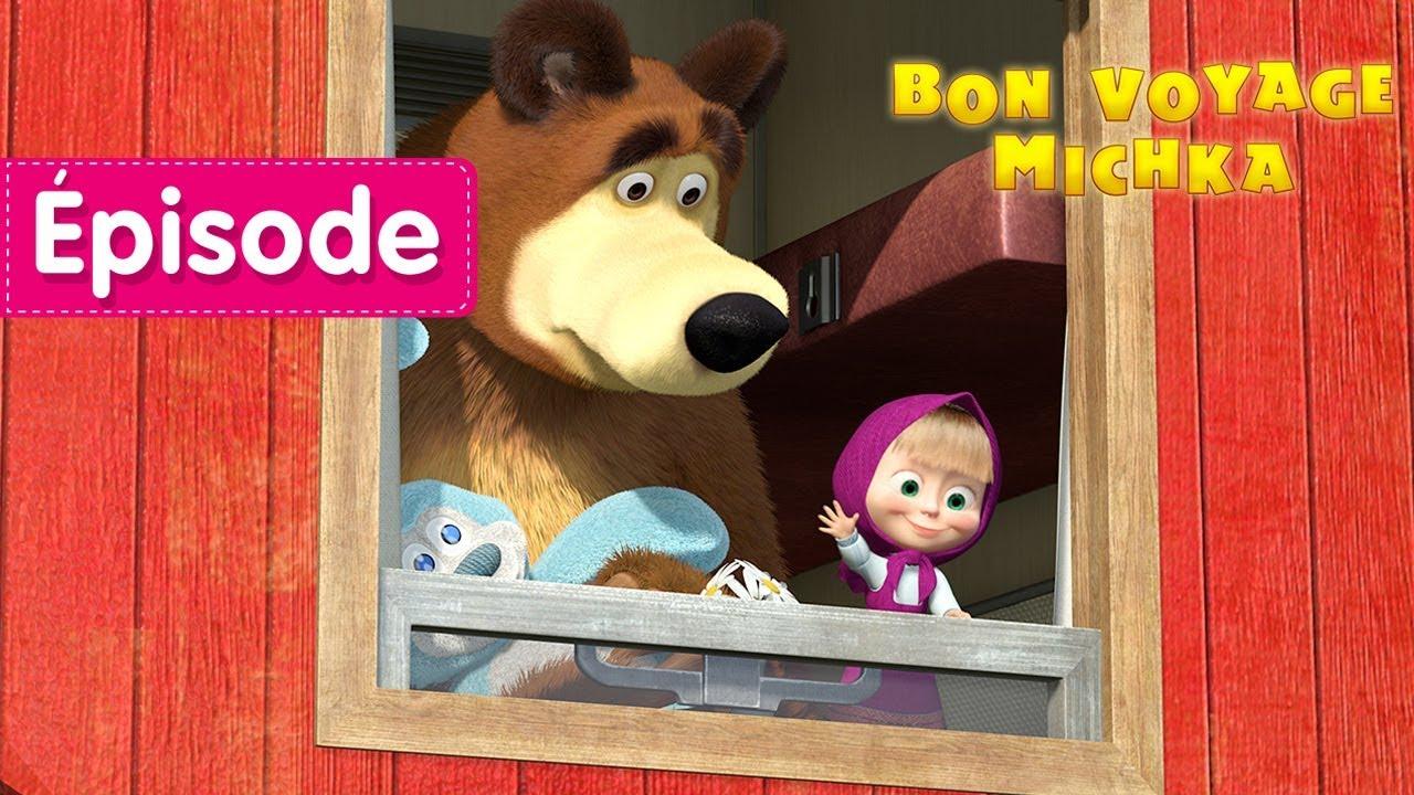 Download Masha et Michka - Bon Voyage Michka! 🚂 (Épisode 37)