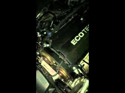 Работа двигателя с ошибкой P0011 (Chevrolet Cruze F16D4)