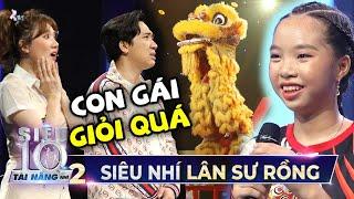 Bé gái 'MÚA LÂN' leo cột cao 'ĐỤNG TRẦN' sân khấu khiến Trấn Thành, Hari Won 'THÓT TIM'   Tập 9 STNN