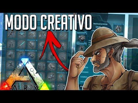 ARK MODO CREATIVO!! MAS COMANDOS NUEVOS!! GAMEPLAY EN ESPAÑOL   Ark: Survival Evolved