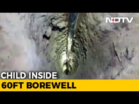 2-Year-Old Girl Falls Into Borewell In Telangana. Stuck At 60-Feet Depth