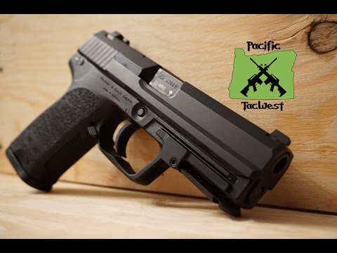 HK USP 40: Review & Field Strip/Disassembly (.40 S&W)