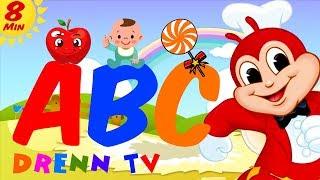 Jollibee Alphabet Song Nursery Rhymes   ABC Phonic Song