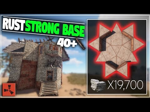 EXTREMELY Strong CHEAP SOLO or Group Base Design | Rust Base Building thumbnail
