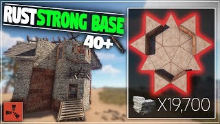 EXTREMELY Strong CHEAP SOLO or Group Base Design   Rust Base Building