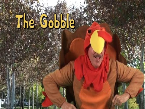 Thanksgiving Song | The Gobble | Brain Breaks |Holiday Song | Jack Hartmann