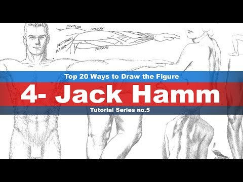 Top 20 Ways to Draw the Figure (4-Jack Hamm) Tutorial series No.5