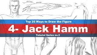 Top 20 Ways to Draw the Figure (4-Jack Hamm) Tutorial series No.5