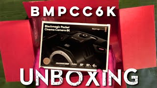 BMPCC6K Unboxing | Black Magic Pocket Cinema Camera 6K