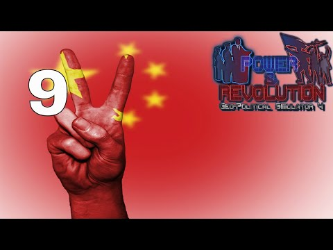 Power and Revolution (Geopolitical Simulator 4) China Part 9 War With Mongolia 2018 Add-on