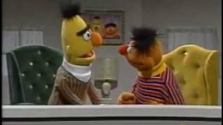 Classic Sesame Street Bert and Ernie (Ernie makes a grocery list )