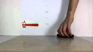 Samsung B2710 Xcover. Падение на плитку с 50 сантиметров