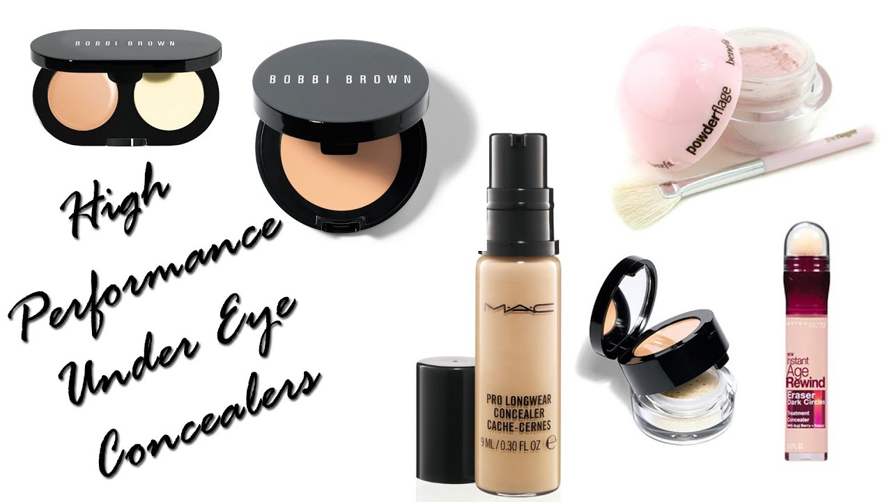 Best Under Eye Concealers (High Performance) - YouTube