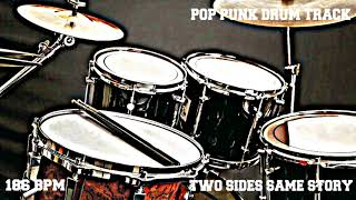 Pop Punk Drum Track  - 186 BPM (FREE TO USE) Drums Only