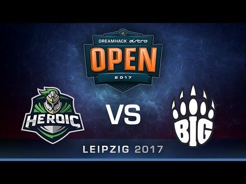 Heroic vs BIG [Map 2 BO3] DreamHack ASTRO Open Leipzig 2017