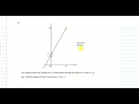 QUESTION 15-17, IGCSE MATHS MAY/JUNE 2015 PAPER 2/2 WORKED