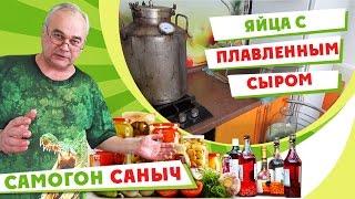 Закуска из плавленного сыра с яйцом / Рецепты закусок / Самогон Саныч