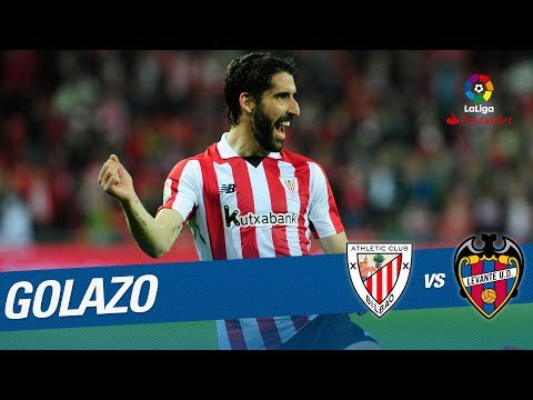 Golazo De Raúl García (1-0) Athletic Club Vs Levante UD