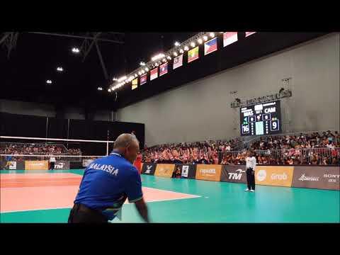 29th SEA Games Volleyball Men: Malaysia vs Cambodia