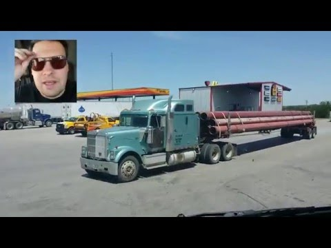 Hauling pipe out of Texas
