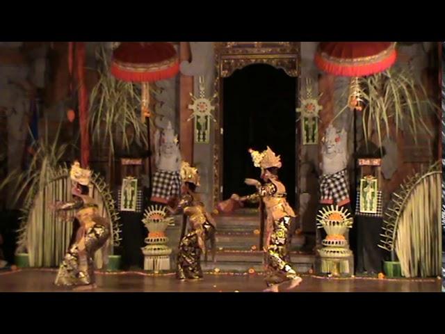 LEGONG PELAYON DANCE 2013 Iringan Semara Pagulingan Gunung Jati di Balerung Stage Peliatan