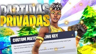 PRIVATE PARTIES FORTNITE simon says, just by peak, scrims, etc. #TENDENCIAS #PRIVADAS #CHILE #FREE