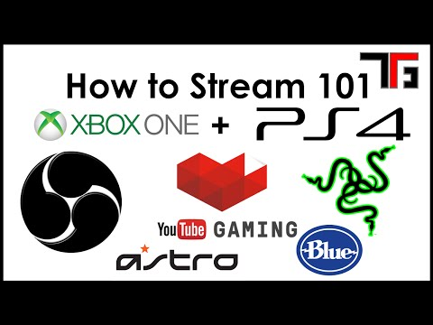 How to Stream Xbox One/PS4 to YouTube Gaming 101