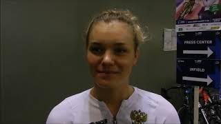 Анастасия Войнова Интервью Велоспорт Трек ЧЕ 2017